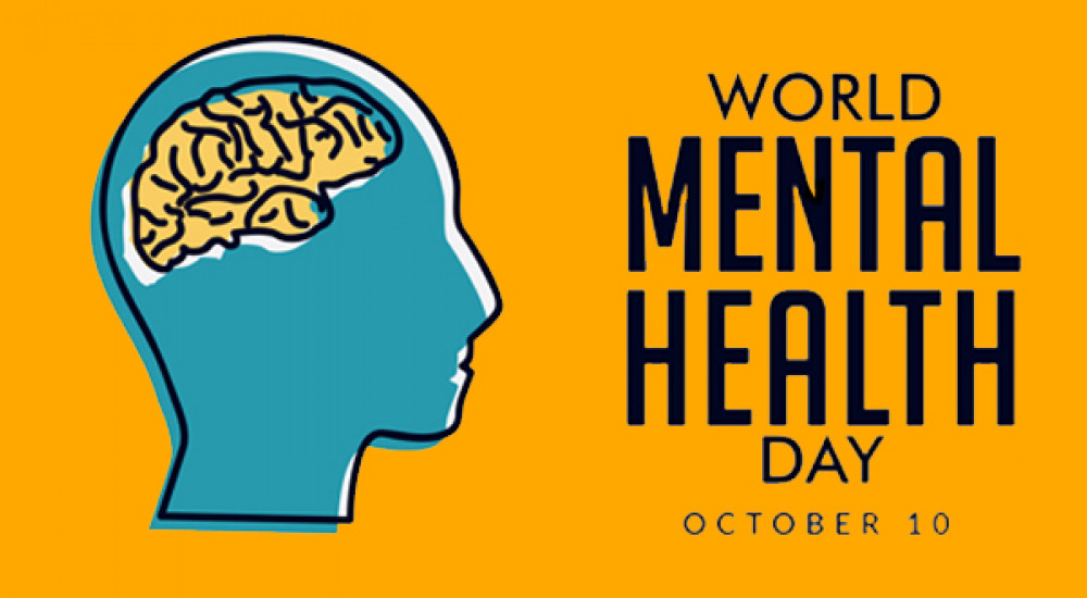 Image result for World mental health day graphic